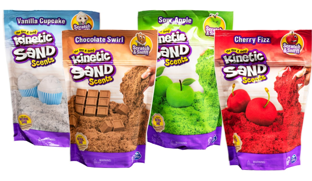 kinetic sand scents in bags