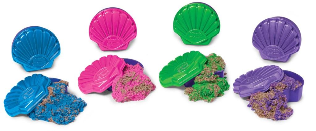 kinetic sand seashells variety