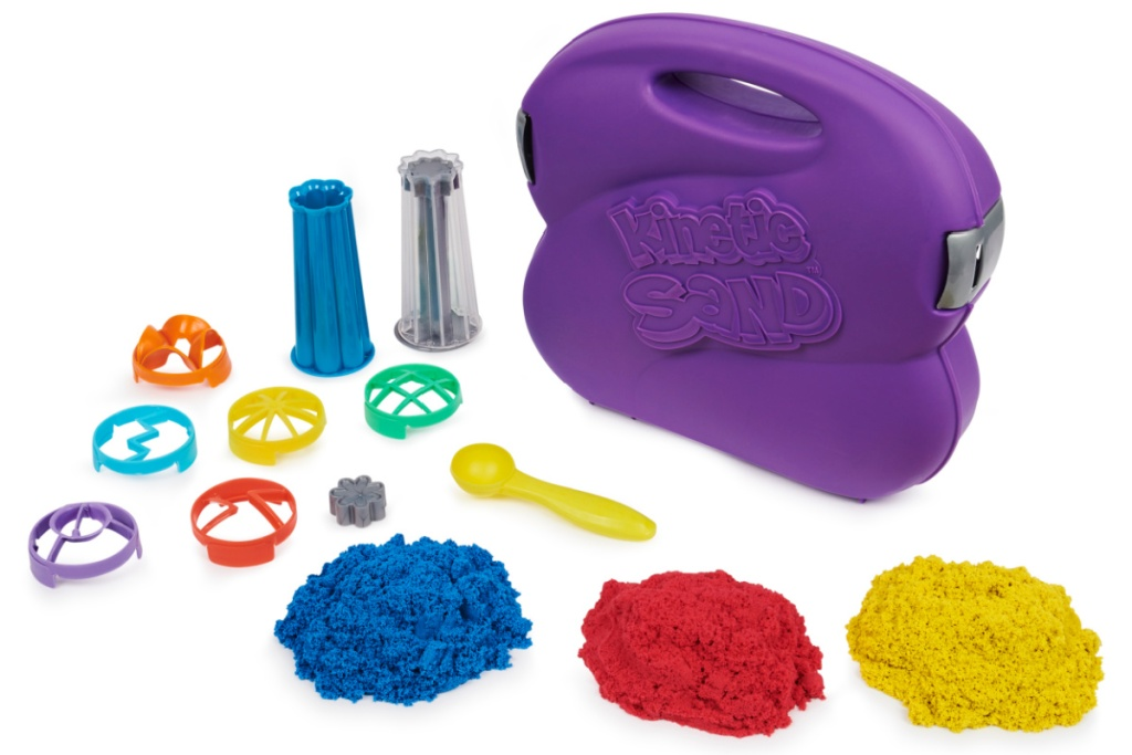kinetic sand whirlz w colors and tools
