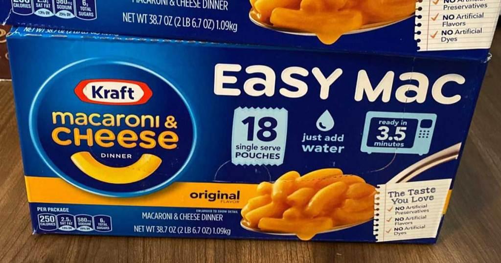 Kraft Easy Mac Cups