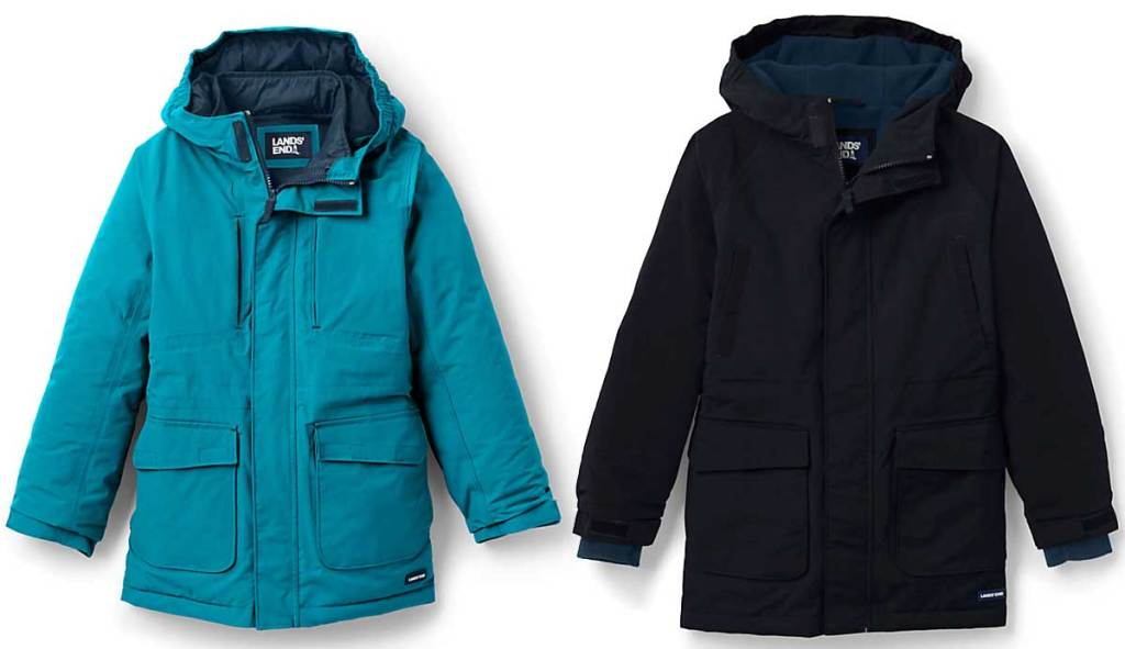 boys winter jackets stock images