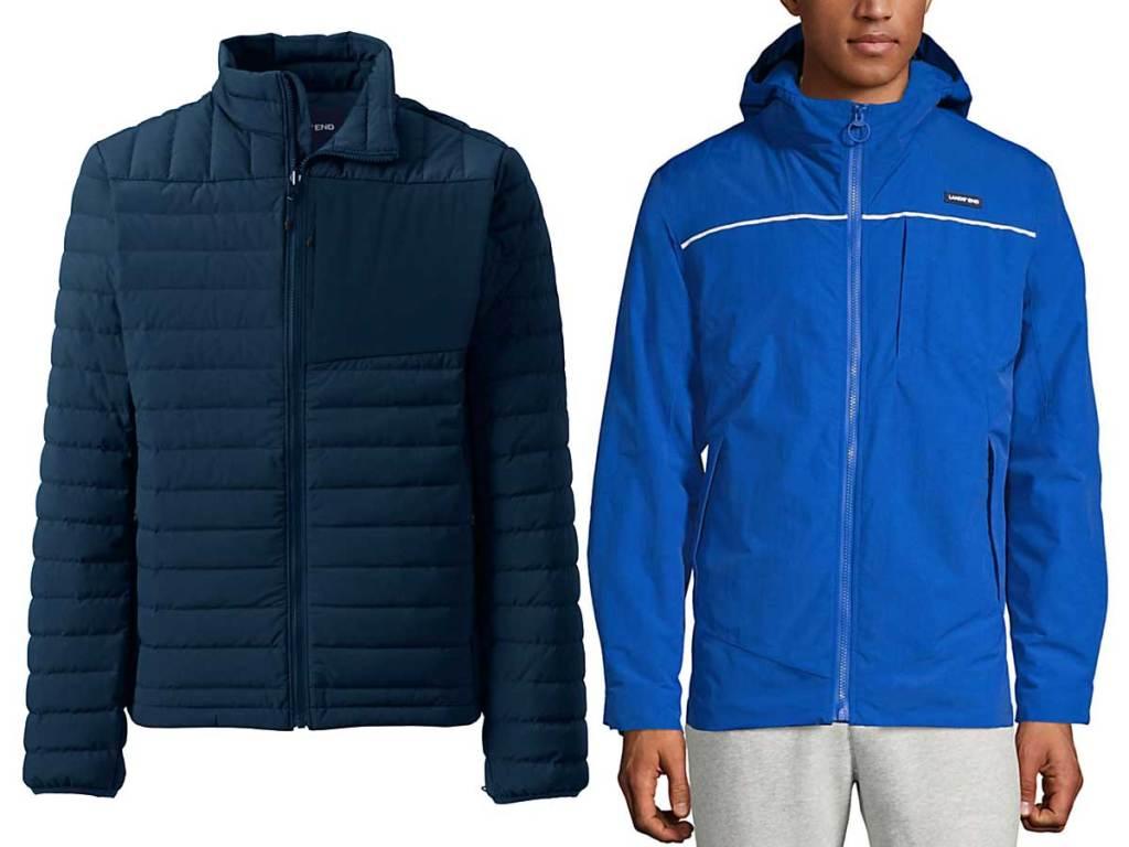 men's jackets stock images