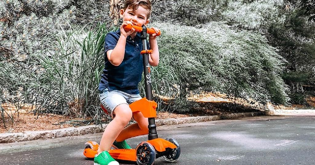 little boy lascoota orange