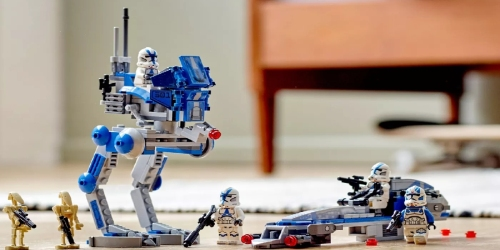 LEGO Star Wars Clone Troopers Building Set Just $24 on Amazon