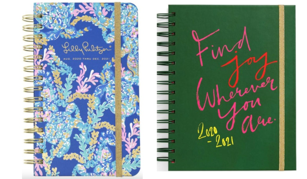 lilly pulitzer planner and joy planner