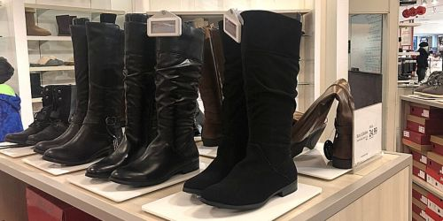 Women's Riding Boots from $17 on Macys.com (Regularly $50+)