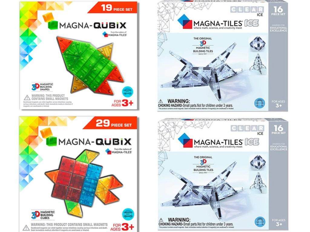 magna-tile magna-qubix building sets