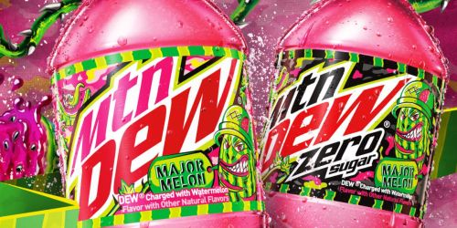 Mtn Dew Unveils Major Melon – Its First New Flavor in Over a Decade