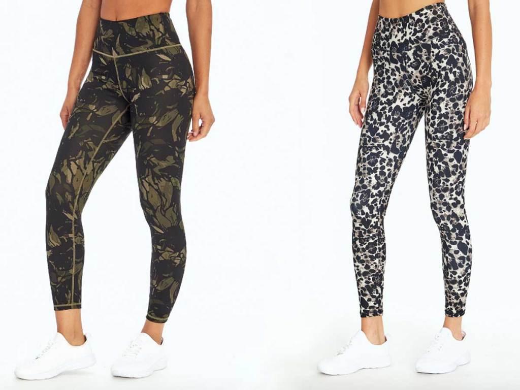 models wearing leggings