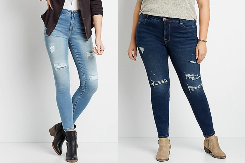 maurices jeggings regular and plus