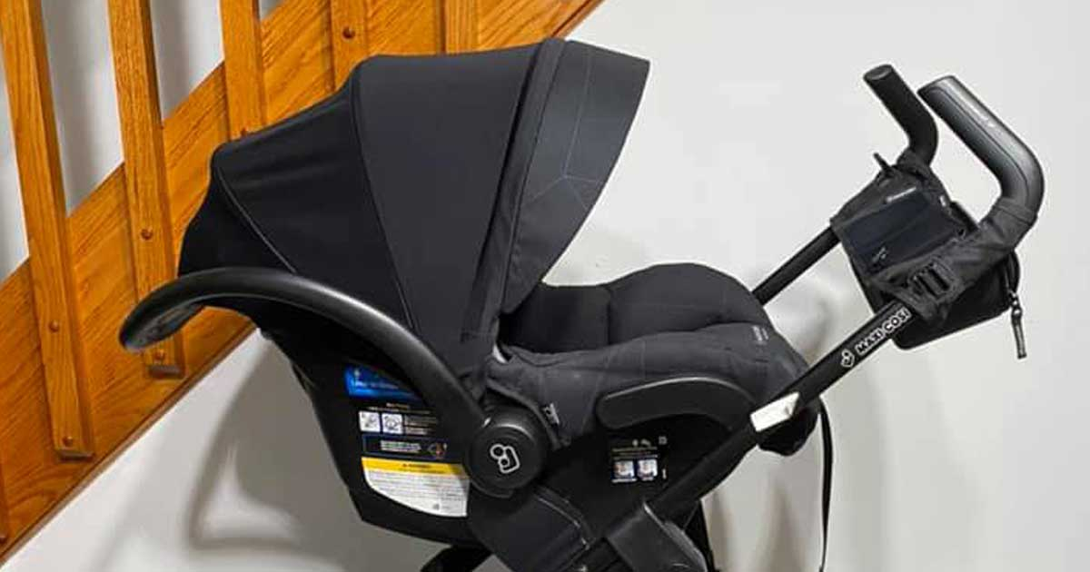 car seat in stroller