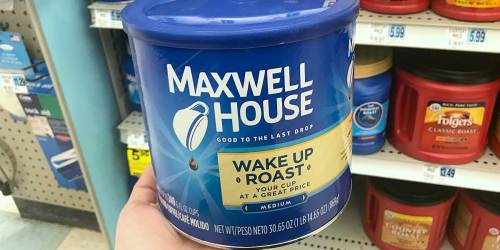 Maxwell House Ground Coffee Canister Only $4.70 Shipped on Amazon