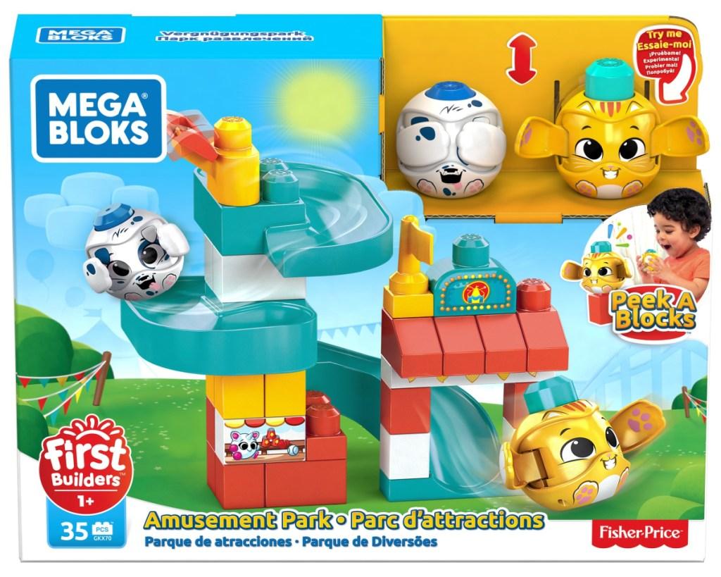 mega bloks amusement park box