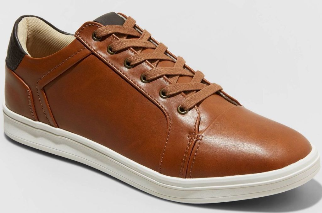 goodfellow & co mens brown shoes