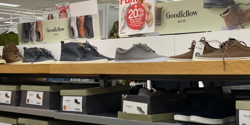 50% Off Men's Shoes at Target | In-Store and Online