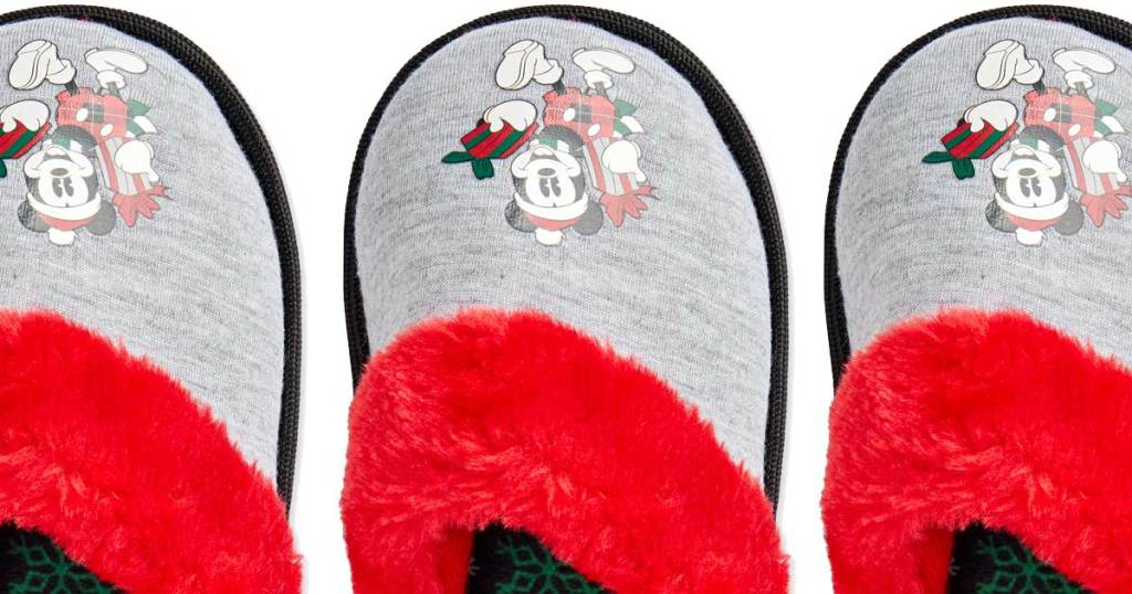 boys mickey mouse slippers