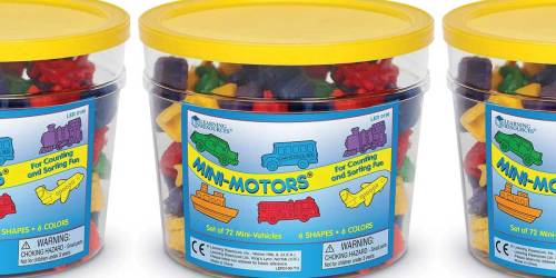 Mini Motors Counting & Sorting Set Just $12 on Amazon (Regularly $20) | Great for Teaching Math Skills