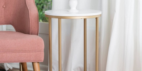 Modern Side Table Only $64 Shipped on Target.com + More Furniture Deals