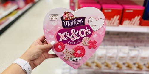 Forget Candy! Give Your Valentine a Heart-Shaped Box of Mother's X's & O's Cookies