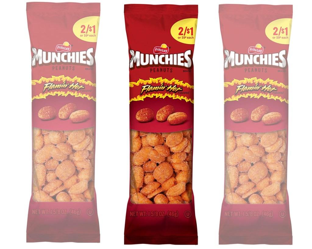 munchies peanuts flamin hot