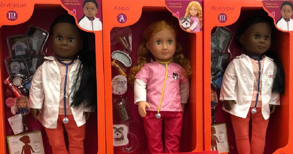 three our generation dolls