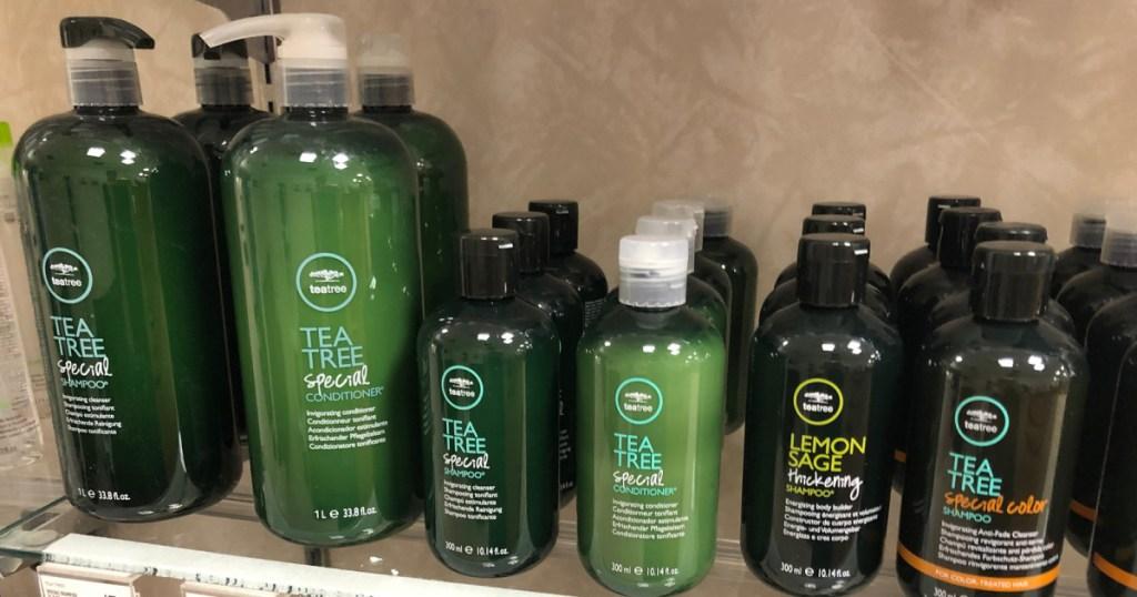 paul mitchell tea tree shampoos in store