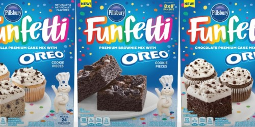 Funfetti OREO Baking Mixes Coming Soon | Enter to Win Funfetti for a Year!