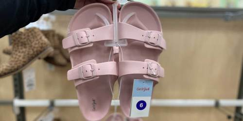 These Cat & Jack Kids Sandals Look Just Like Birkenstocks & Are Only $9.99 at Target
