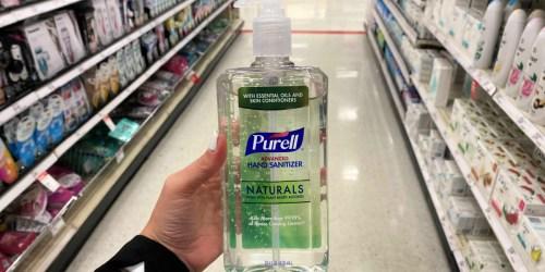 Purell Hand Sanitizer 28oz Bottle Just $5 at Target AND Reusable Face Masks Just $1.60