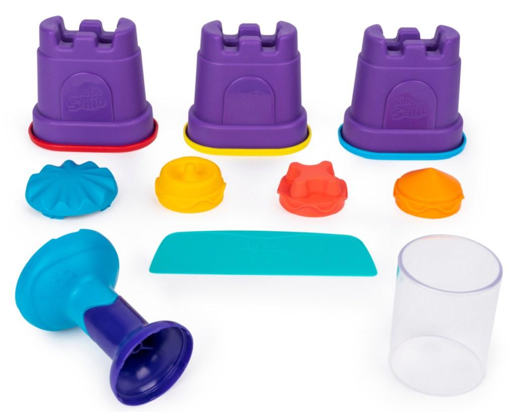 rainbow mix kinetic sand w: tools