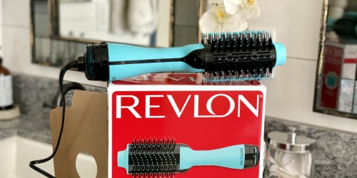 Revlon Hair Dryer & Volumizer Styling Brush Only $29.99 Shipped on Amazon (Regularly $60)