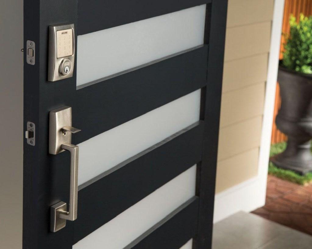 schlage smart door