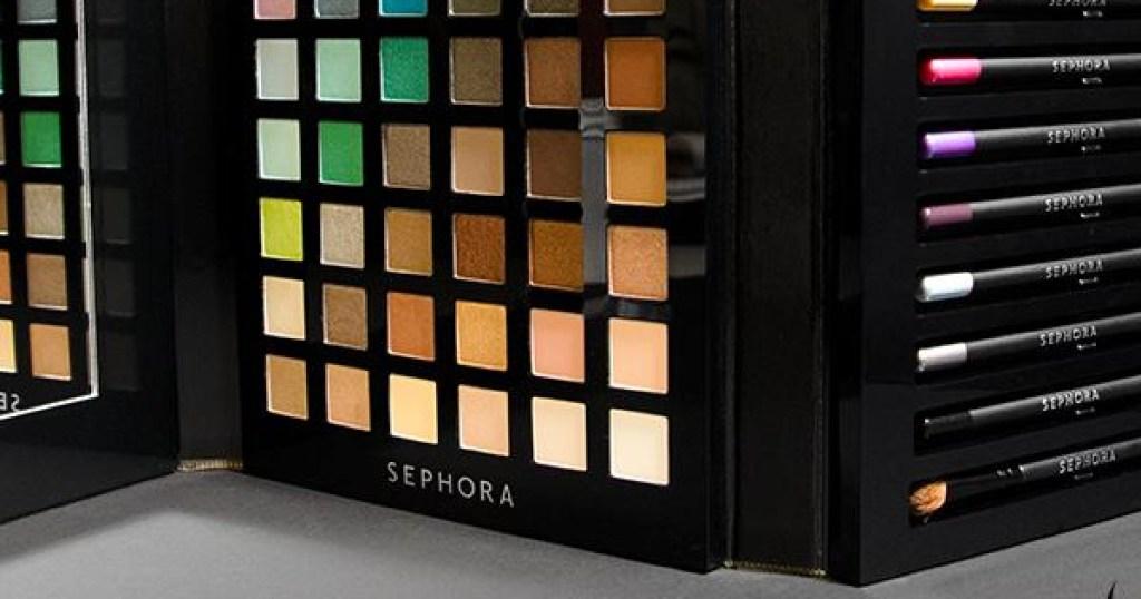 sephora palette w/ 28 colors