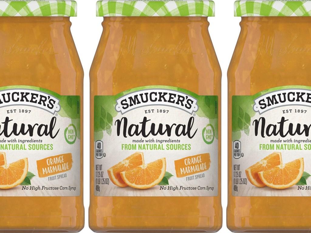 smucker's natural orange marmalade