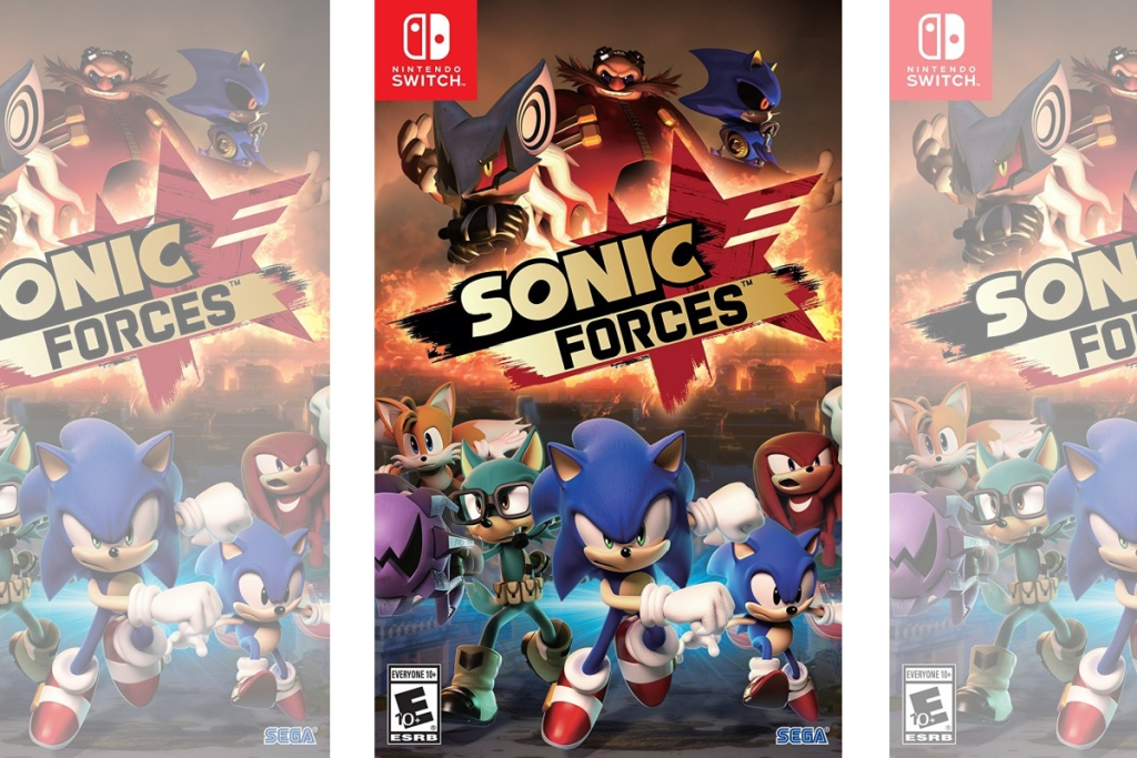 sonic forces game for nintendo switch