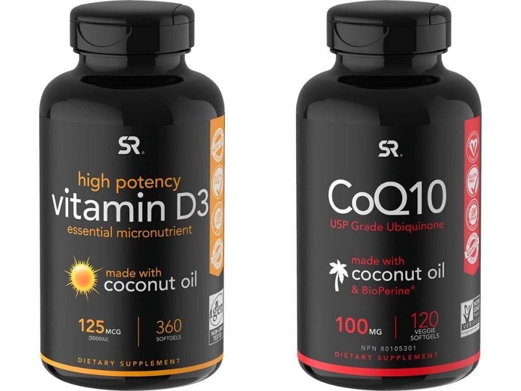 vitamin d3 and coq10 supplements
