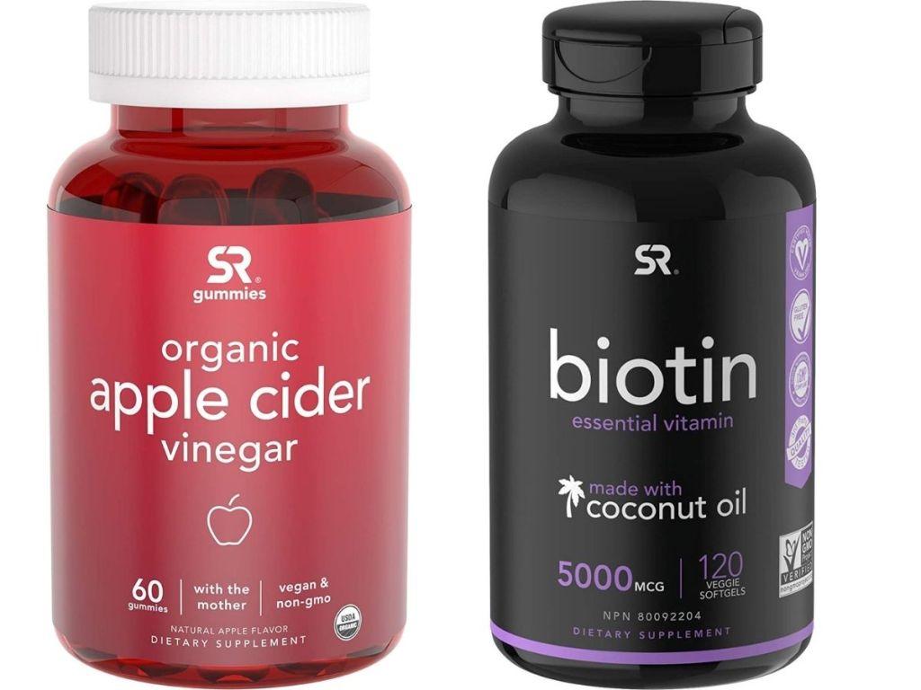 apple cider vinegar and biotin supplements