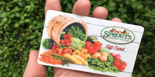 $100 Sprouts Farmers Market Gift Card Only $89.99