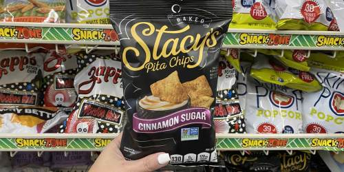 Stacy's Pita Chips AND Skinny Pop Popcorn Sharing Bags Only $1 Each at Dollar Tree