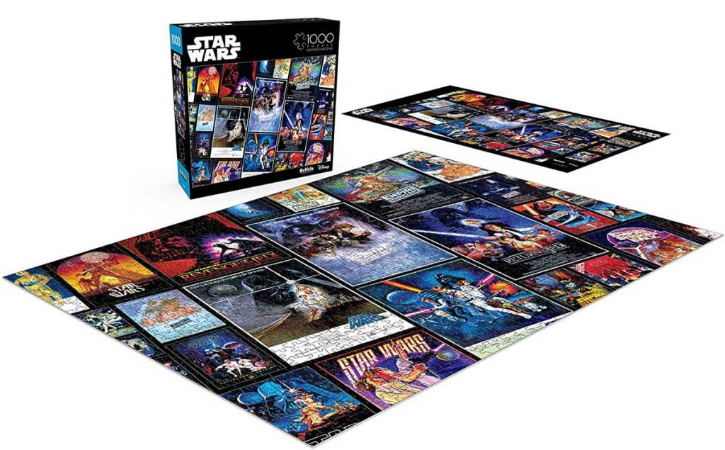 star wars collage puzzle