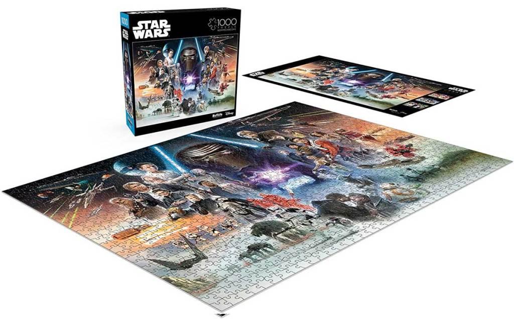 star wars skywalker returns puzzle