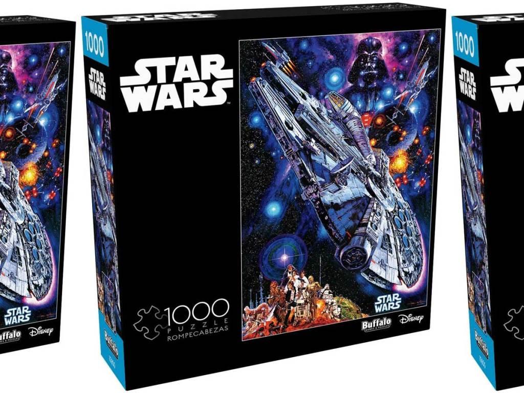star wars millenium falcon puzzle