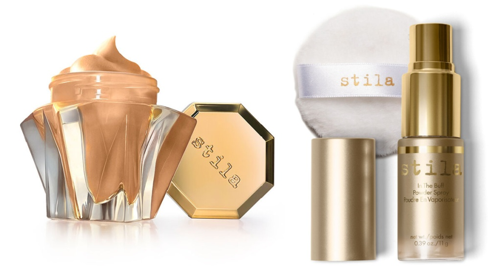 stila face products and buff spray