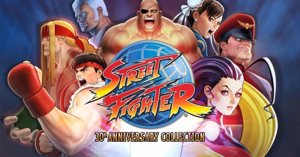 street fighter game cover