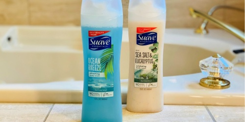 Suave Body Wash Only $1 Each on Walgreens.com