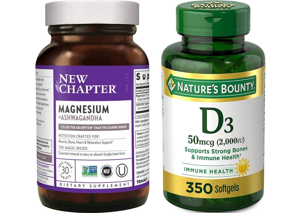 New Chapter Magnesium and Nature's Bounty