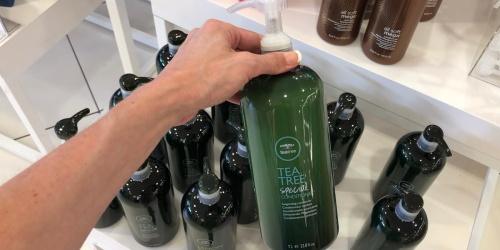 Paul Mitchell Tea Tree 1-Liter Shampoo & Conditioner Bottles Only $17.99 on JCPenney.com (Regularly $36+)