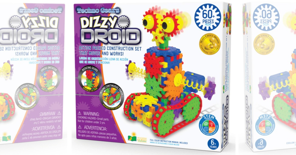 the learning journey dizzy droid in box