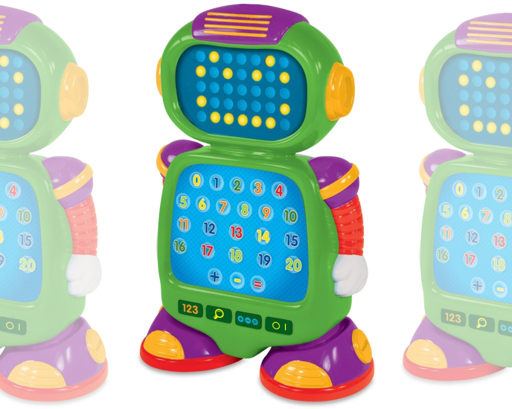 the learning journey numberbot toy