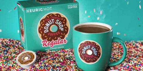 The Original Donut Shop or Cinnabon 48-Count K-Cups $15.99 Shipped on Amazon | Just 33¢ Per K-Cup